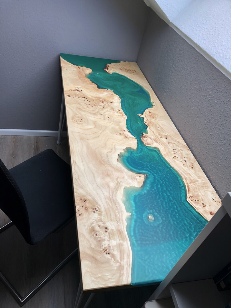 Bürotisch | Rivertable | Schreibtisch | Holztisch