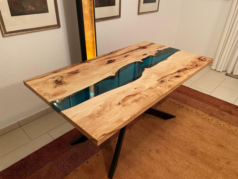 Flusstisch | Epoxidharz Tisch | River Epoxy | Designer Tisch