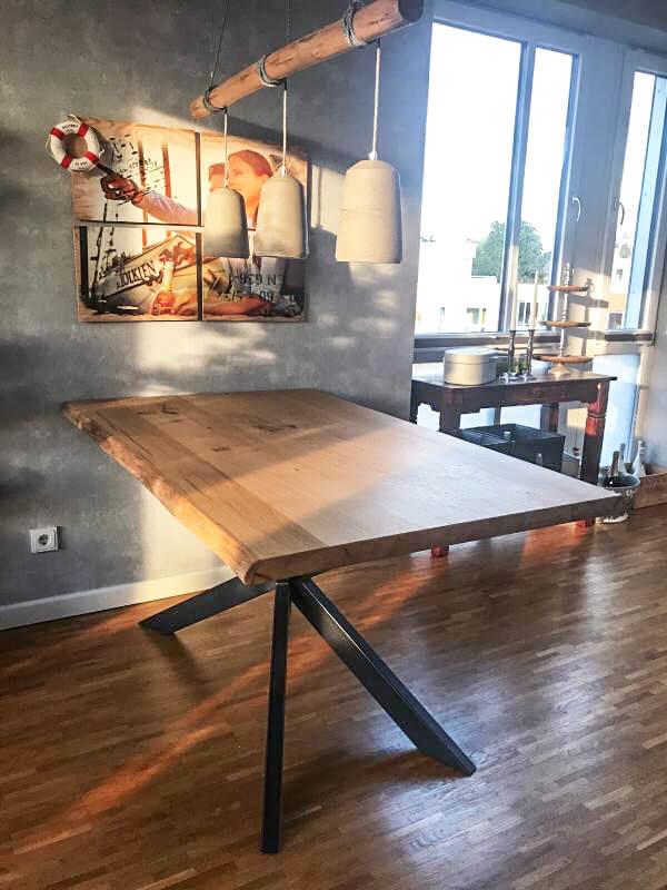 Massivholztisch Esstisch | Esstische Massivholz | Tische aus Hamburg