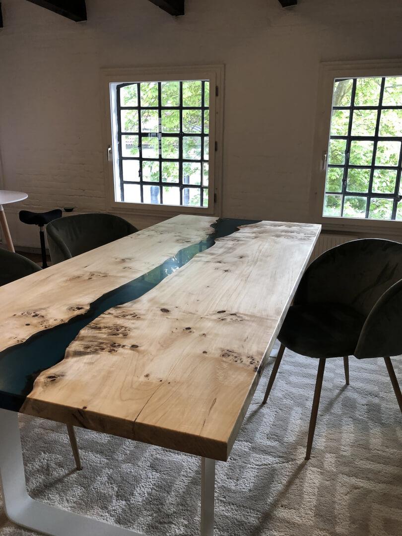 River Designtisch | Designer Tisch | Epoxid