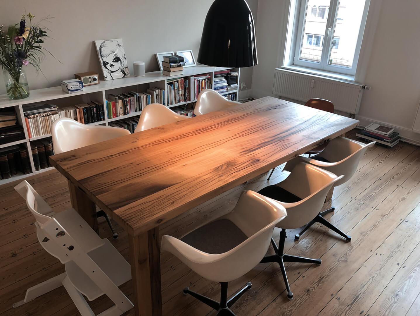 Esstisch Eiche | Eichenholz | Scheunenholz | Designer Esstische