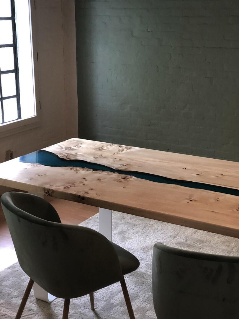 Epoxy River Table | Massivholztisch | individuell auf Maß