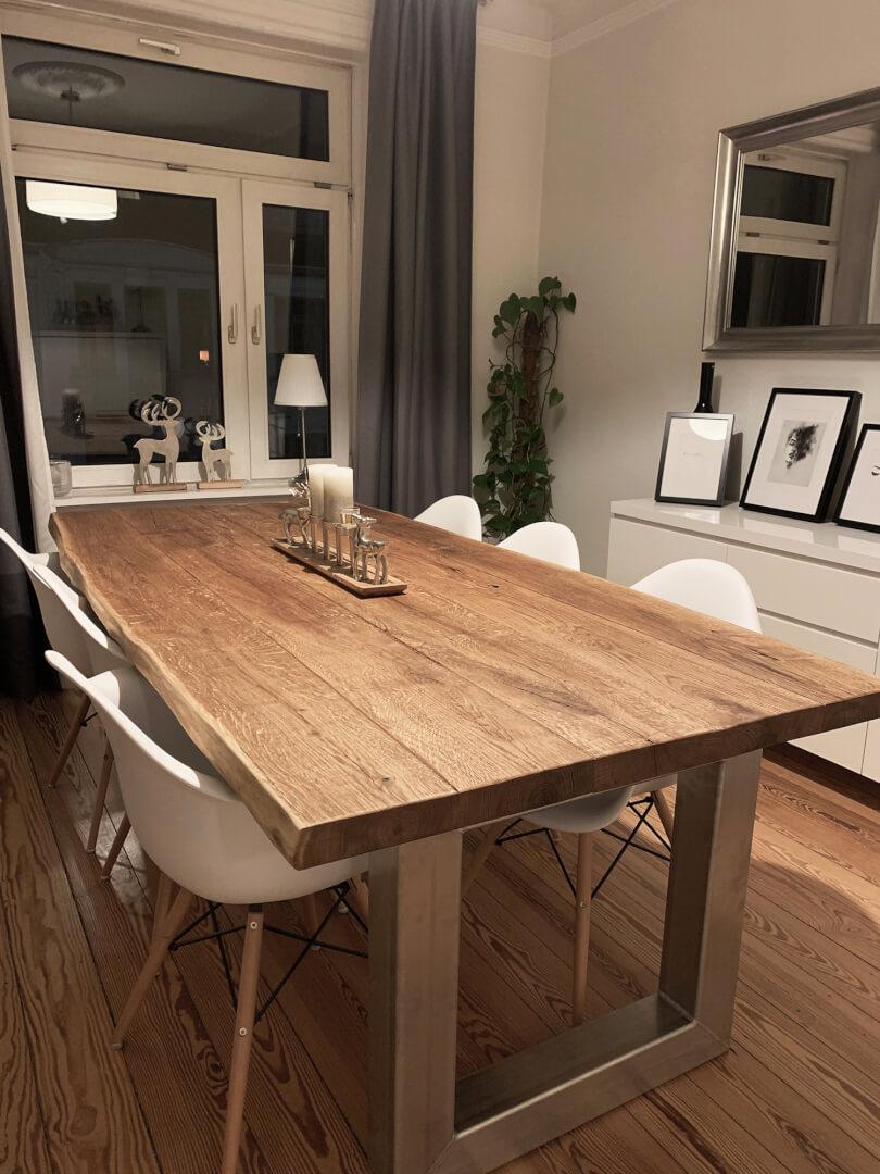 Esstisch Gruppe | Massivholz | Designer | Esszimmer Tisch