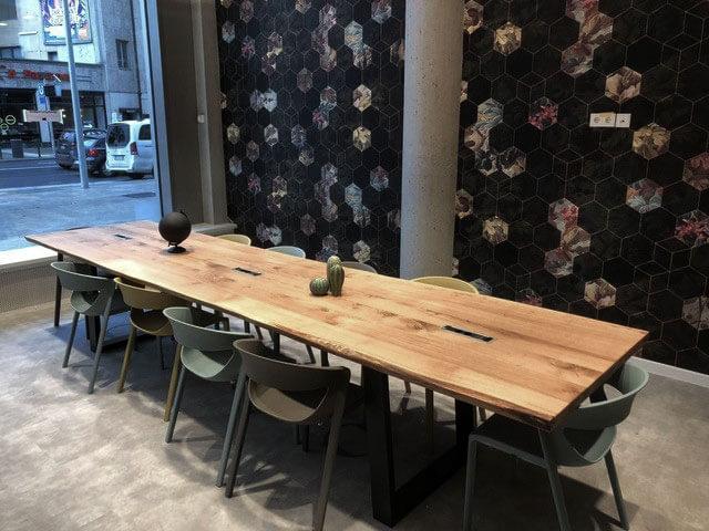 Esstisch groß | Massivholz Esstisch | langer Esszimmertisch