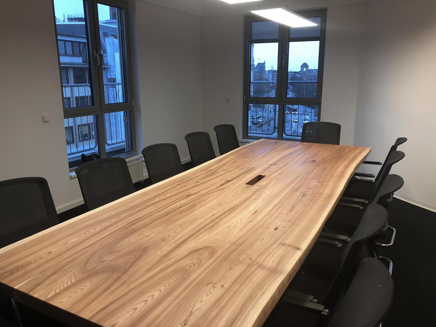 Großer Bürotisch | Tisch Konferenzraum | Holzwerk | Meeting