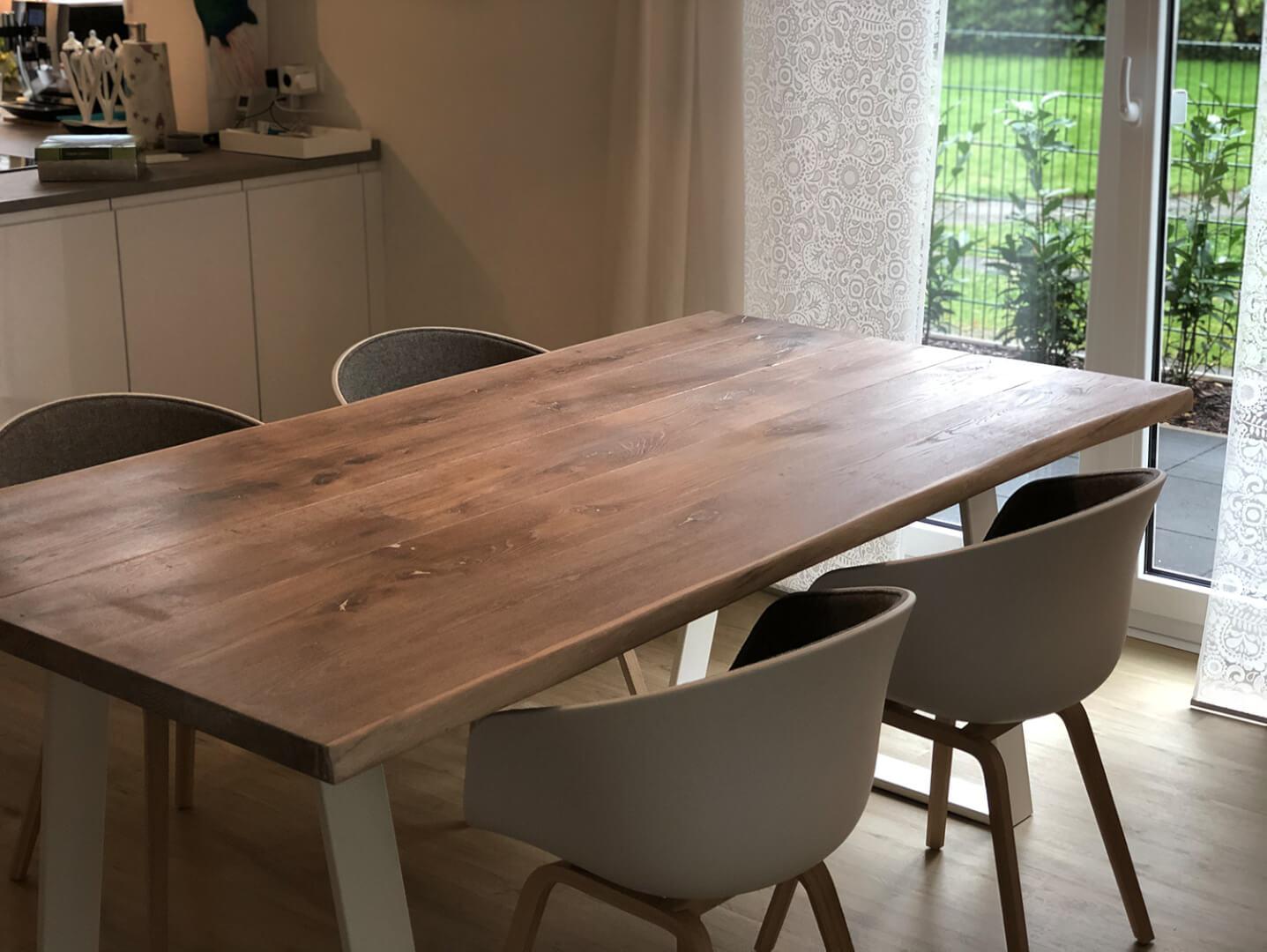 Esstische | Holzwerk | Hamburg | Massivholz Tisch für Essecke