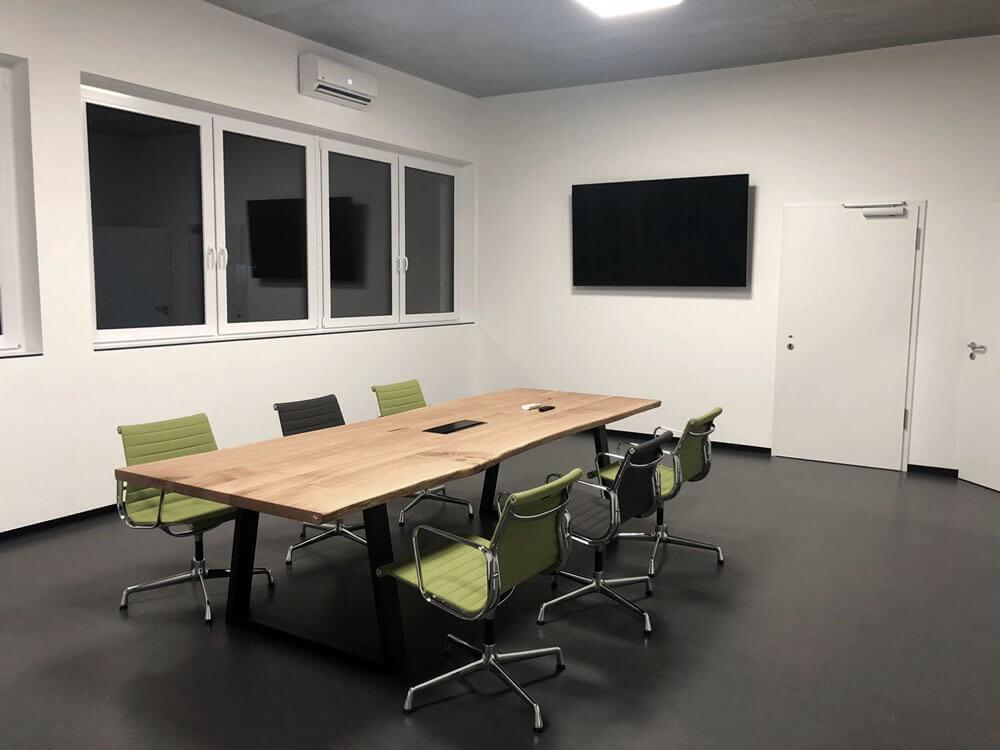 Konferenztisch | Bürotisch Eichenholz | Meetingtisch | Besprechungstisch