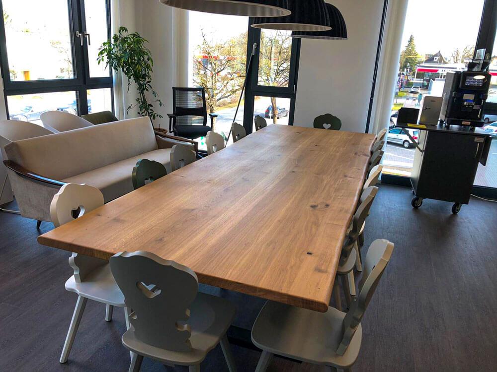 Massivholz Konferenztisch | Konferenztisch Naturholz | Custom Design