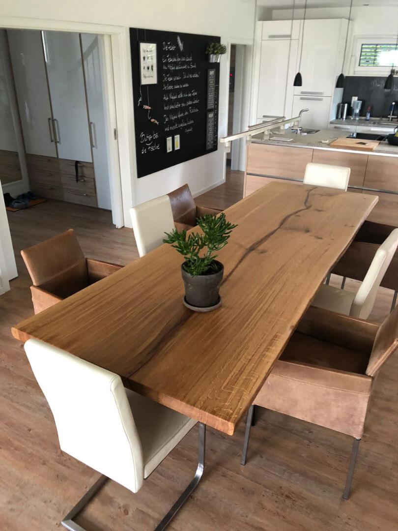 Unikattisch aus Massivholz | Wohnzimmertisch Unikat | Vollholz massiv | Hamburg