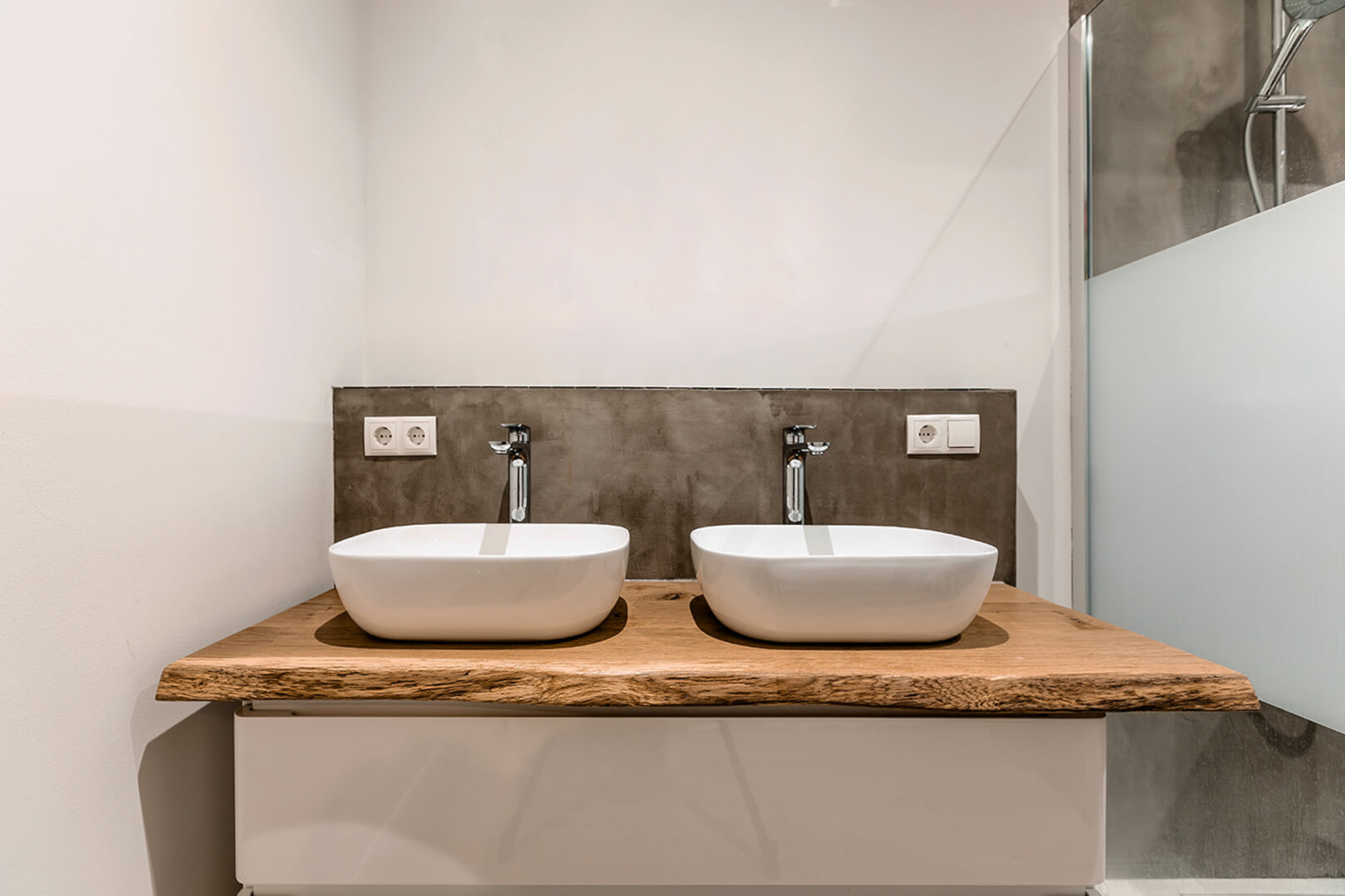 Waschtisch | Waschtischplatte | Massivholz