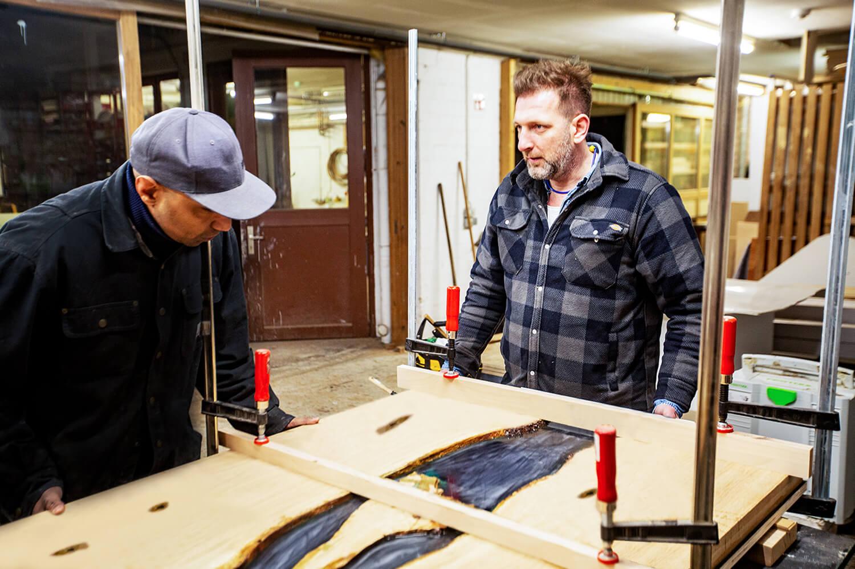 Tischwerkstatt Hamburg | Holzwerk für Tisch Design