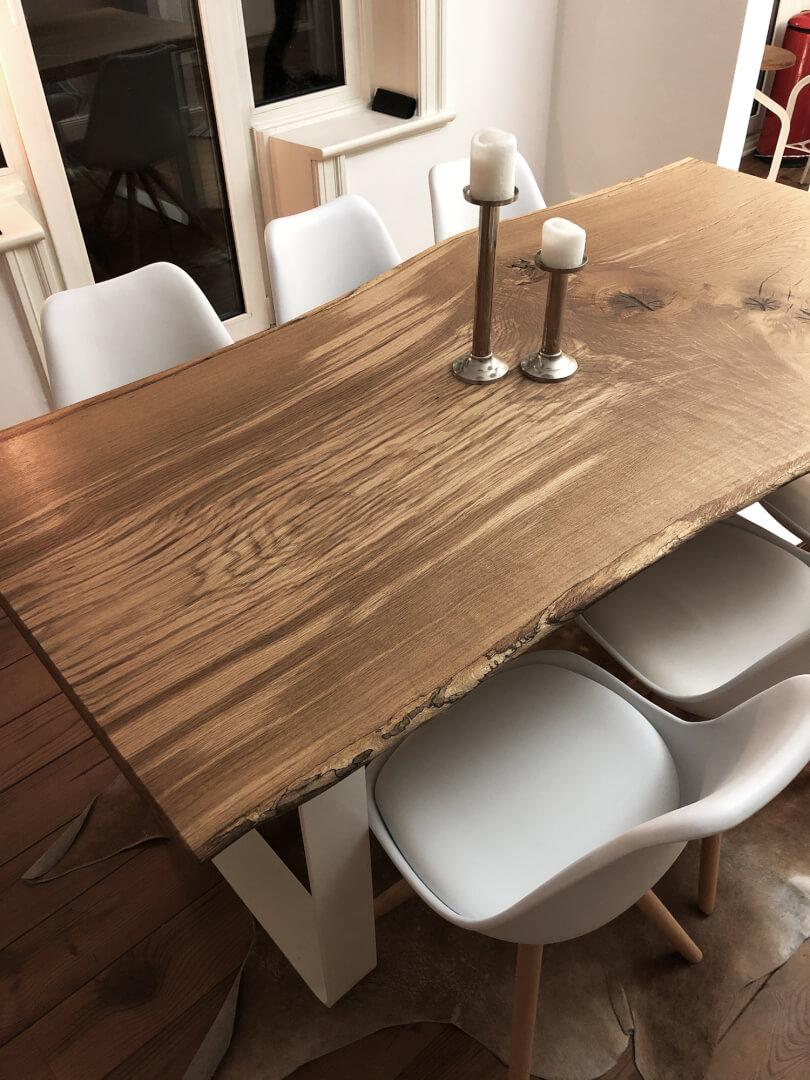 Unikattisch Baumkante | Unikat Tische | Baumkantentisch