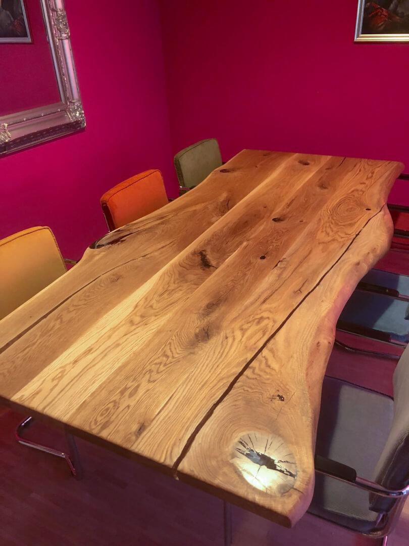 Esstisch   Baumtisch   Designer Esstisch   Massivholz