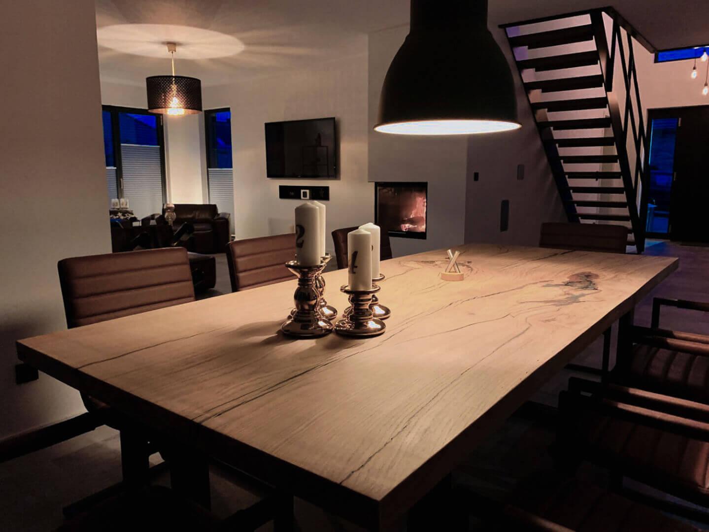 Esstisch individuell   Echtholz   rustikal   Custom Design