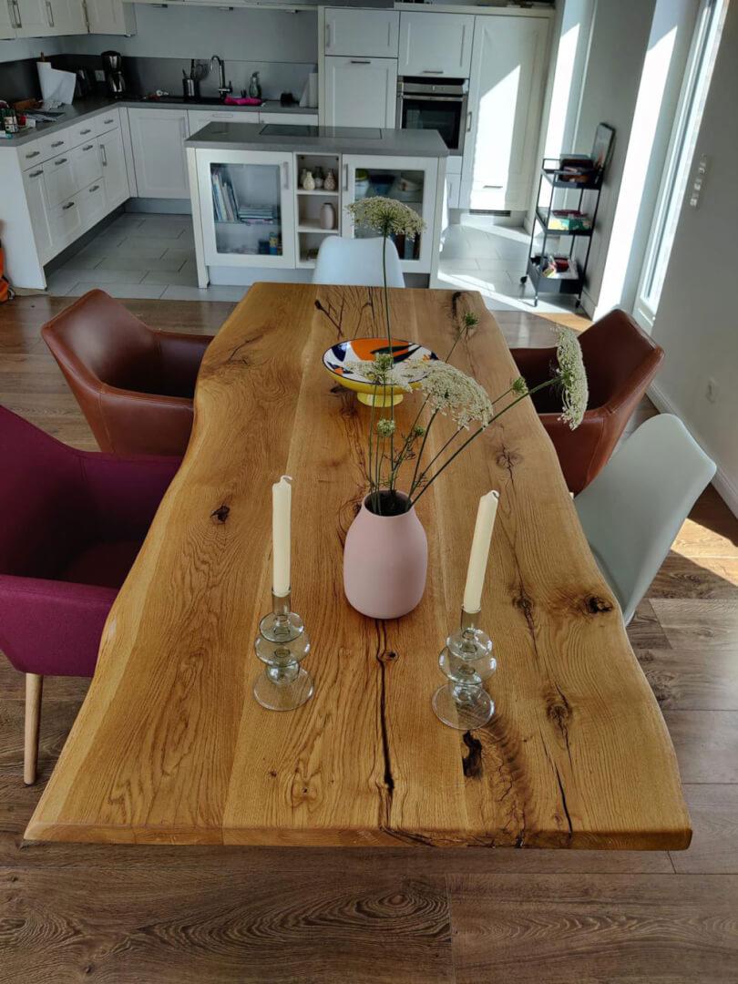Massivholztisch Hamburg   Holztisch aus Echtholz   Massivholz individuell